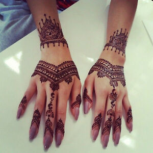 Henna body artist / Henna tattoos & custom work!! Mehndi Windsor Region Ontario image 1