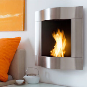 Blomus Chimo Wave Stainless Steel Fireplace