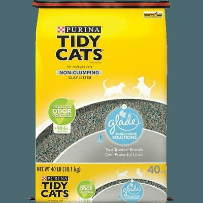 purina non clumping cat litter glade clear