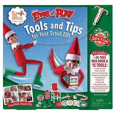 The Elf on the Shelf: Scout Elves at Play - tools and Tips for Your Scout Elf! (Scout Elf)