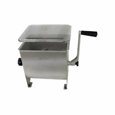 Weston 20lb Stainless Steel Manual Meat Mixer Model 36-1901-w