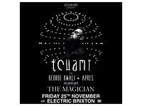 2 x Tchami + Very special guests tickets. Electric Brixton, 25th of November 2016.
