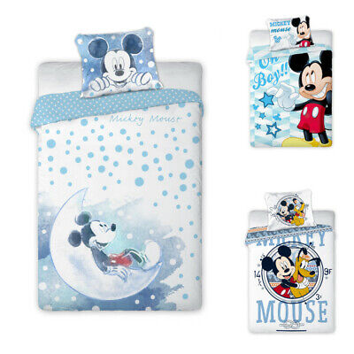 Disney Mickey Mouse Babybettwäsche 100x135 cm