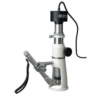 Amscope H2510-5m 20x-50x-100x Measuring Shop Microscope 5mp Camera