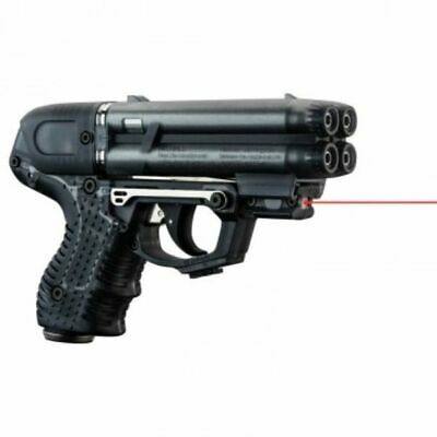 FIRESTORM JPX 6 PEPPER GUN BLACK WITH LASER WITH LEVEL 2 HOLSTER