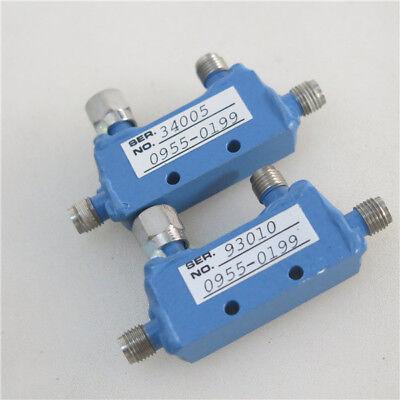 1pc MAC 0955-0199 7-12.4GHz 10DB SMA RF Coaxial Directional Coupler