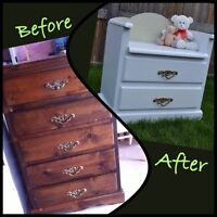 Re-Purposed Dresser Turned Into A Bench
