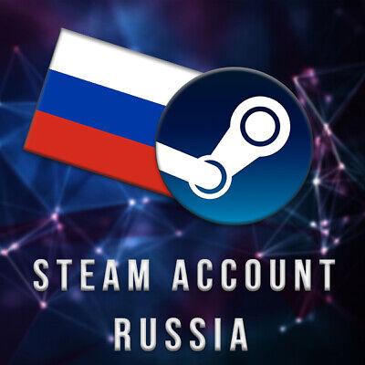 RUSSIAN STEAM ACCOUNT - Cheaper Store - No VPN needed - Full...