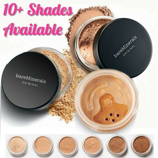 Lots of Shades BareMinerals Original Foundation Escentuals 8