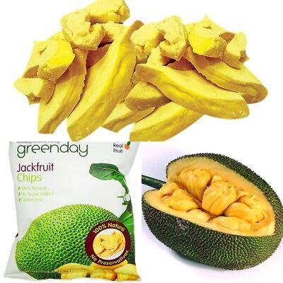 Dried tropical crispy Jackfruit Chips Fruit no sugar natural delicious snack  ()