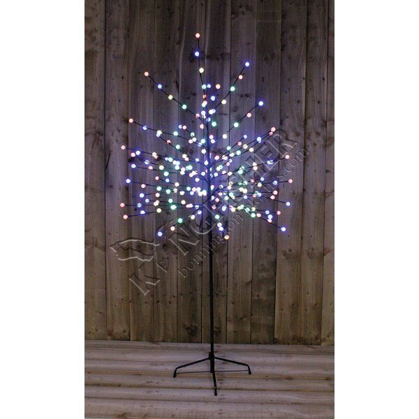 5ft Multi Coloured Berry Tree / Christmas Decoration (Brand New ...