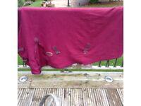 Pony rug fleece.Size 5'6