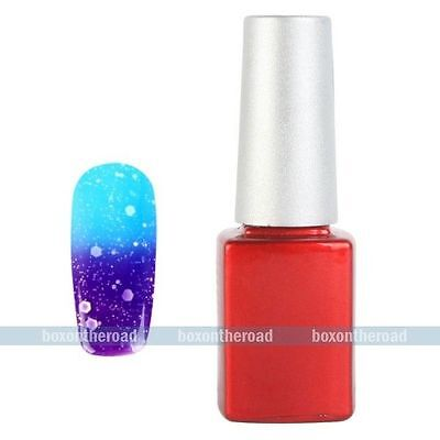 UV Gel Polish Glitters Temperature Change Color Soak Off Nail Art DIY Decoration on Rummage