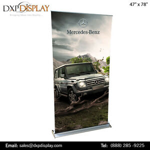 Trade Shows Banner Stand With Graphic Prints