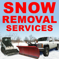 SNOW PLOWING AND SNOW REMOVAL SERVICES - SNOW PLOW