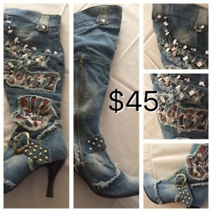 Size 9 women's boots and shoes (fits like an 8)