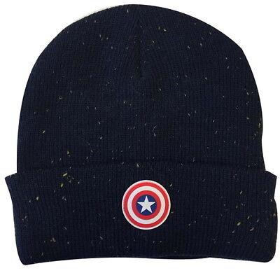 NEW OFFICIAL Marvel Captain America Civil War Shield Beanie Hat