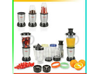 New 21 Piece Set Multi Blender Food Processor Liquid Mixer, Chopper, Blender