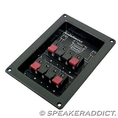 Stereo Subwoofer Crossover 120Hz 2 way 12dB AudioSource