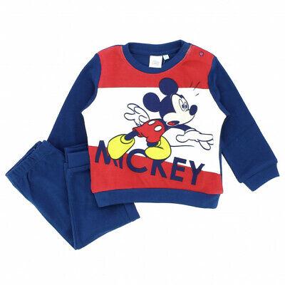 Pigiama Bimbo Neonato in Caldo Cotone Interlock Mickey Disney Topolino Art. 8880