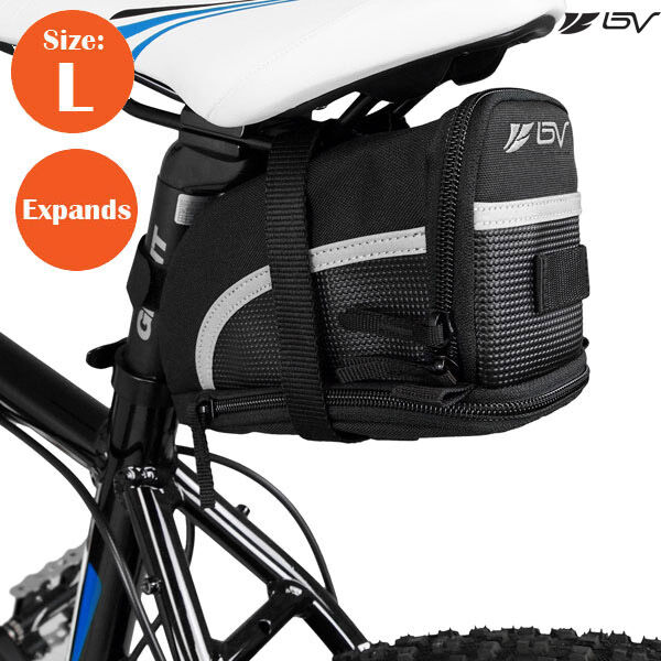 MTB Bicycle Cycling Bike Saddle Bag Tail Rear Pouch Seat Storage Bag Carrier