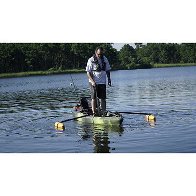 Kayak or Canoe Outriggers Stabilizers for Fishing, Standing & Beginners