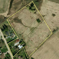 5.58 Acres west of London in Komoka- Country Home and property