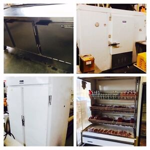 COMMERCIAL COOLERS! FREEZERS! WALK-IN's & ICE MACHINES!!