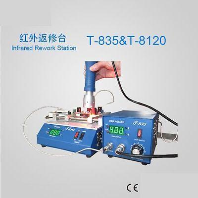 T-835 Infrared Soldering Rework Stationpreheating Oven T-8120