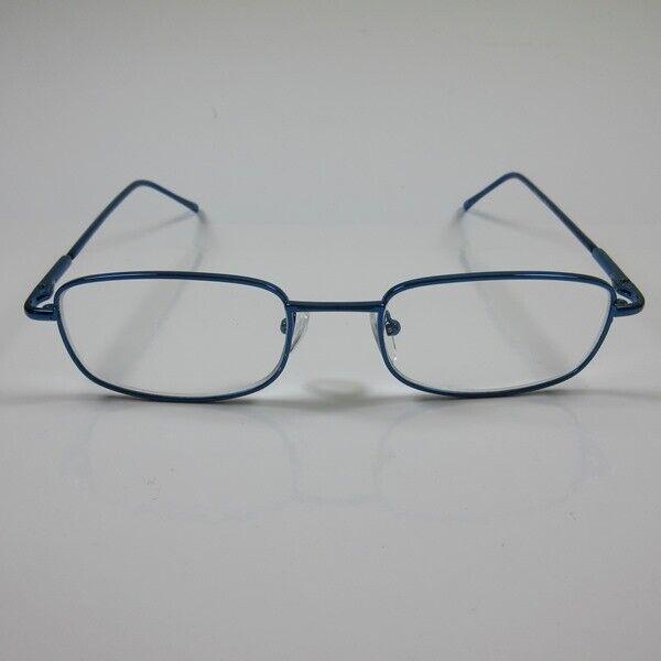 LINDAUER Herren Lesebrille Metall 2,5 blau Flexbügel Fertigbrille Lesehilfe