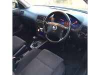 VW Golf mk 4 150 Bhp 1.9 diesel 3 door black
