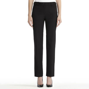 Women's black, taupe, white casual and dress pants, sizes 6-8