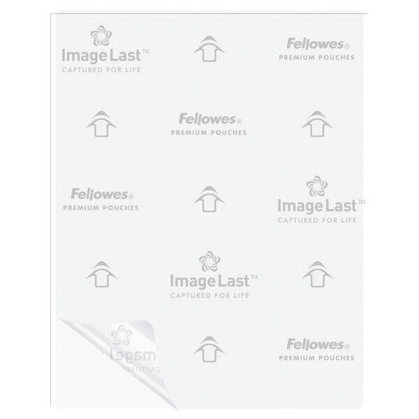 Fellowes 52454 Letter Laminating Pouches, 100 pk (3mil)