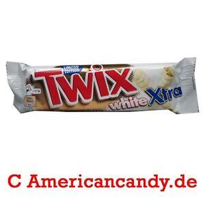 SONDERPREIS MHD 04.09.16: 20x 75g Twix White XTRA Limited edition (9,99€/kg)