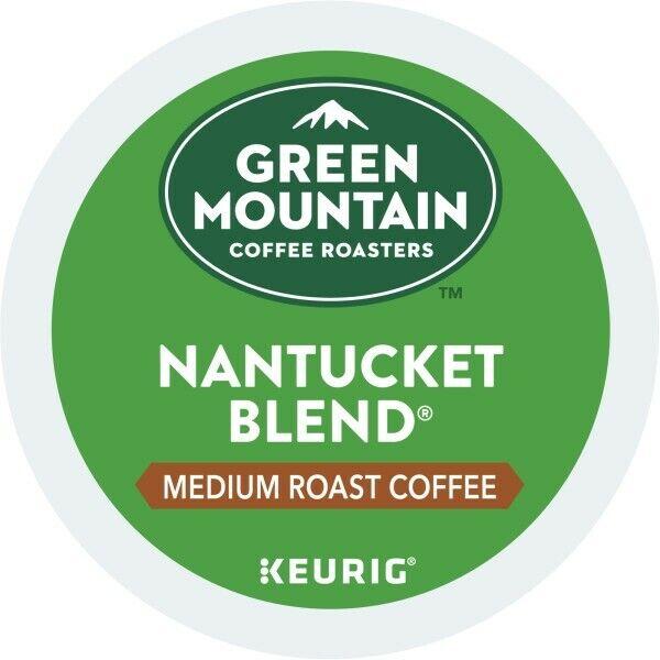 Green Mountain Coffee Nantucket Blend, Keurig K-Cup Pod, Medium Roast, 96 Count
