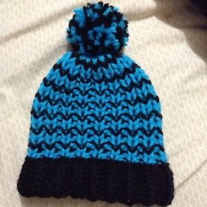 Knit toques and headband