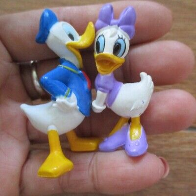 Daisy Donald duck miniature figure 2inch PVC model cake topper birthday ornament, used for sale  Shipping to United States