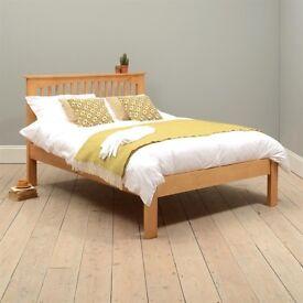 Oakley / Oxbury solid pine kingsize bed