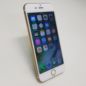 AS NEW IPHONE 6 64GB GOLD/BLACK WITH TAX INVOICE