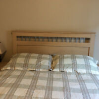 Almost new bedroom set for sale