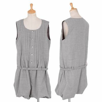 (SALE) JUNYA WATANABE Pleated sleeveless all-in-one Size About  M(K-31470)