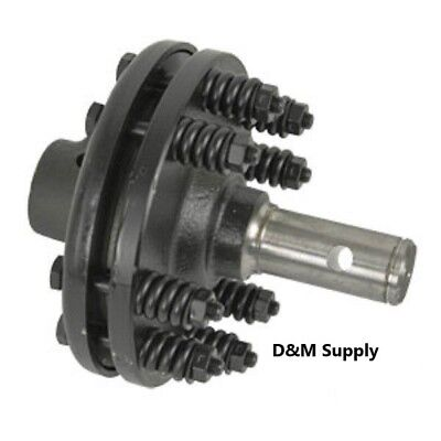 New Slip Clutch For Tractor Pto Bush Hog Rotary Cutter 1 38 Smooth Shaft