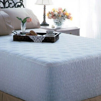 EXCEPTIONALE 400 THREAD COTTON MATTRESS PAD