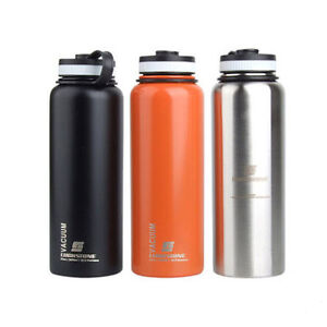 1L BPA Free Stainless Steel Insulated Vacuum Water Bottle ...