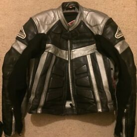 Hein Gericke Motorcycle Jacket (HG PSX Track II Suit) SIZE UK 30