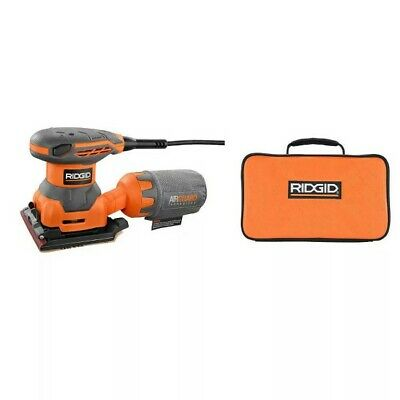 RIDGID 2.4 Amp 1/4 Sheet CORDED Sander with AIRGUARD Technology