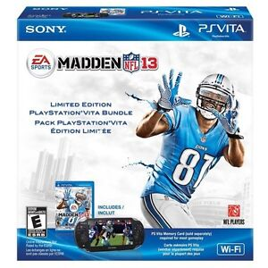 PS Vita madden 2013 limited edition with extras Prince George British Columbia image 1