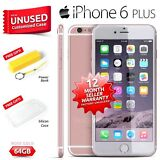 New Sealed Factory Unlocked APPLE iPhone 6 + Plus Rose Gold 64GB 4G Smartphone