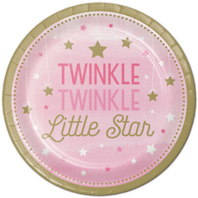Twinkle Twinkle Little One (Twinkle Twinkle Little Star One Little Star Girl Party Supplies Large)
