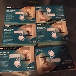 Brand new 12 peices Juno track lights
